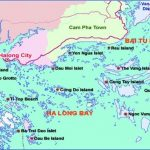 halong bay islands map 150x150 Map of Halong Bay Vietnam