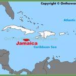jamaica location on the caribbean map 150x150 Jamaica Map