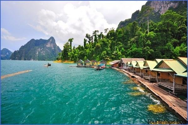 khao sok national park floating river huts THE BEST OF THAILAND   Khao Sok National Park GET HERE NOW