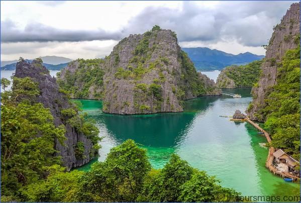 lake kayangan climb MOST BEAUTIFUL PLACE ON EARTH   Coron Philippines
