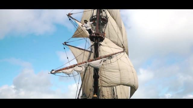 living on a russian pirate ship 4k sailing ireland part 1 03 Sailing Ireland Part
