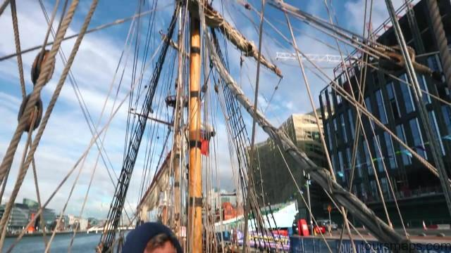living on a russian pirate ship 4k sailing ireland part 1 22 Sailing Ireland Part