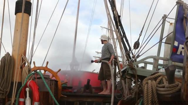 living on a russian pirate ship 4k sailing ireland part 1 33 Sailing Ireland Part