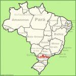 londrina location on the brazil map 150x150 Sao Paulo Brazil Map