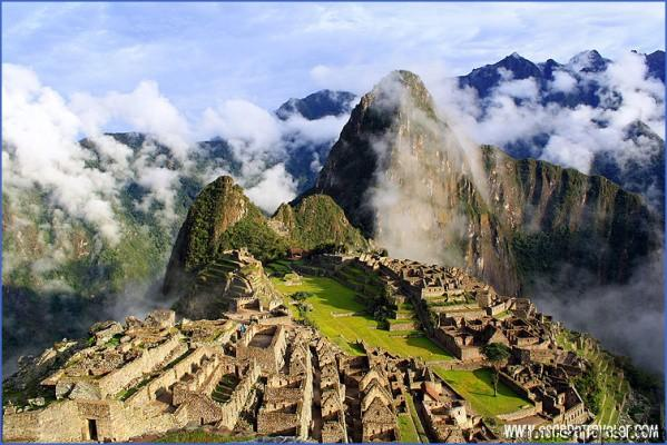 machu picchu sunrise from guard house MACHU PICCHU YOU NEED TO SEE THIS PLACE BEFORE DIE