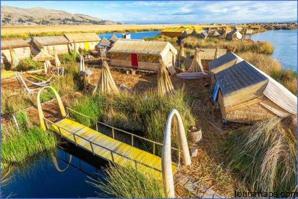 man made island view floating islands lake titicaca near puno peru 57083302 PUNO PERU   Man Made Islands