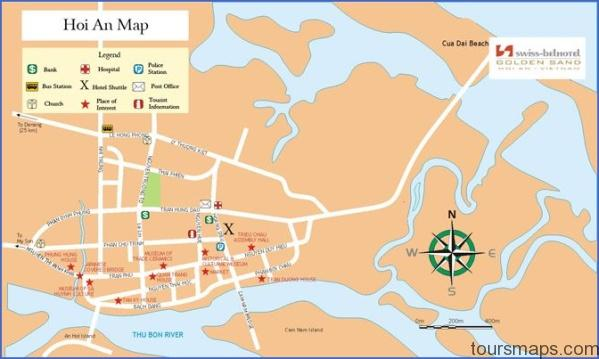 map 1 Map of Hoi An Vietnam