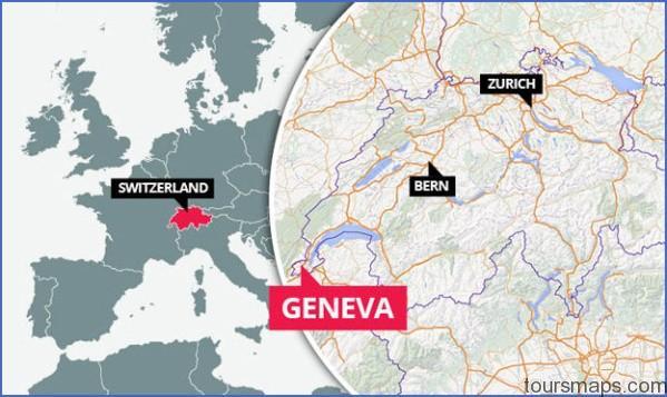 map geneva switzerland 358480 Map of SWITZERLAND Geneva