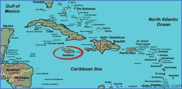 map of jamaica circled 2a Jamaica Map