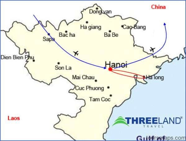 map vietnam tour halong 2 days luxury junk cruises full size Map of Halong Bay Vietnam