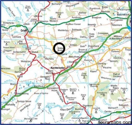 map2 Map of Gleneagles Scotland