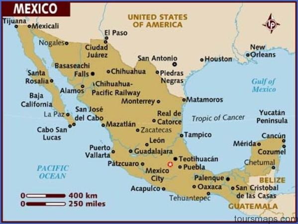 map of mexico Map of Cancun Mexico