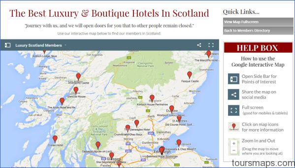 maplink Map of Gleneagles Scotland