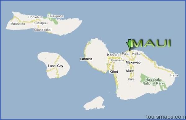 mauicountyhaiku Map of HAWAII MAUI