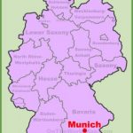 munich location on the germany map 150x150 Map of Munich Germany