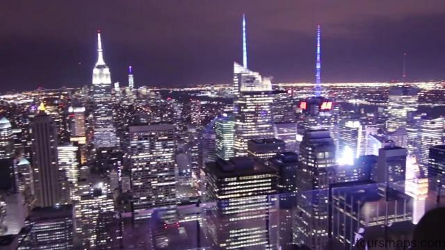 new york city at night nyc usa 18 NEW YORK CITY AT NIGHT NYC USA
