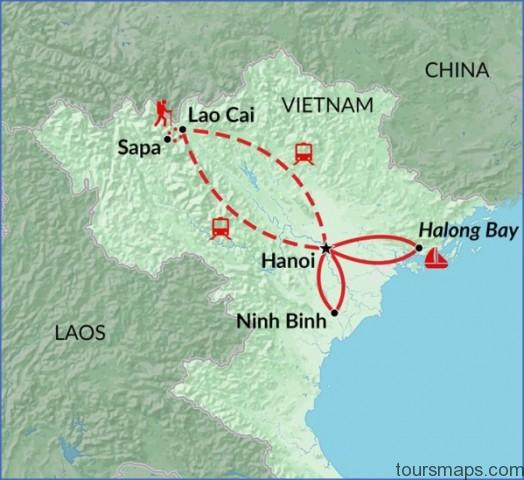 north vietnam explorer map tr93 maplarge Map of Halong Bay Vietnam