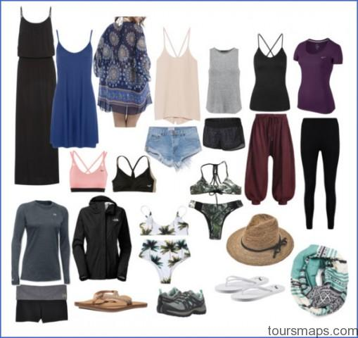 packing list southeast asia BACKPACKING Packing Guide Europe Southeast Asia