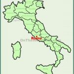 rome location on the italy map min 150x150 Map of Rome Italy