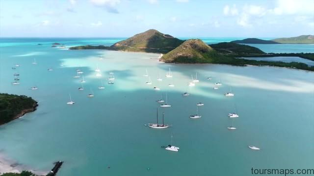 sailing a catamaran in the caribbean with slv 37
