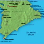 salvador map 150x150 Map of Salvador Brazil