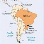 san paulo map 150x150 Sao Paulo Brazil Map