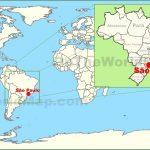 sao paulo on the world map 150x150 Sao Paulo Brazil Map