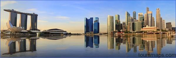 singapore skyline 2 Singapore Travel Guide   City of the Future