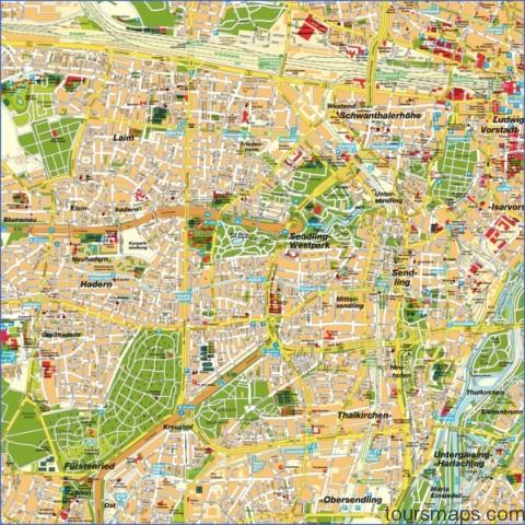 stadtplan muenchen 6080 Map of Munich Germany