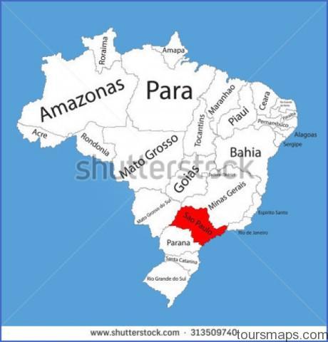 stock vector sao paulo brazil vector map isolated on brazil map editable vector map of brazil 313509740 Sao Paulo Brazil Map