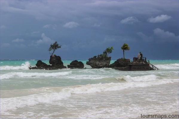 stormy willies rock 1 of 1 TRAVEL TO BORACAY