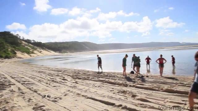 the perfect beach fraser island australia 06 THE PERFECT BEACH Fraser Island Australia