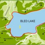 travel slovenia walking path around bled lake 150x150 Map of Bled Slovenia
