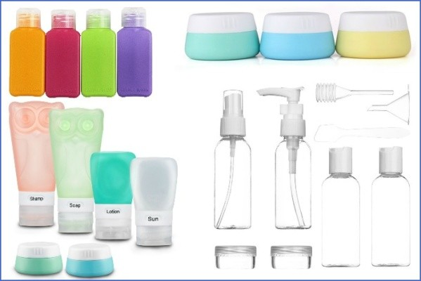 travel toiletries list containers What To Pack TRAVEL TOILETRIES