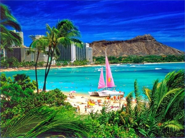waikiki oahu hawaii THE MOST BEAUTIFUL PLACE IN THE WORLD   HAWAII