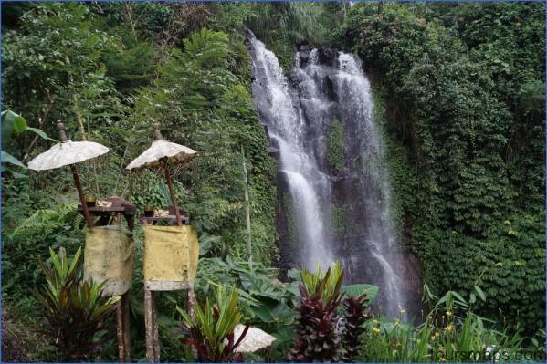 waterfall near munduk bali 1024x682 BACK IN BALI   WATERFALL IN A CAVE