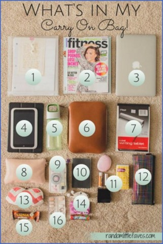 whats in my bag travel packing essentials 9 Whats in my Bag Travel Packing Essentials