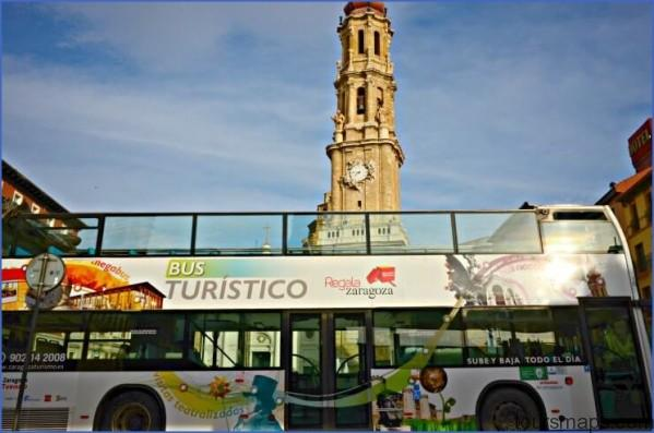 zaragoza hop on hop off bus THINGS TO DO WHEN TRAVELING BY BUS