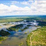 zimbabweaerialviewofthezambeziriverrightbeforevictoriafalls 150x150 Africa Safaris, and travel   Botswana Zimbabwe Zambia