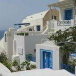 blue doors in oia santorini 12 150x150 How to Travel in Santorini