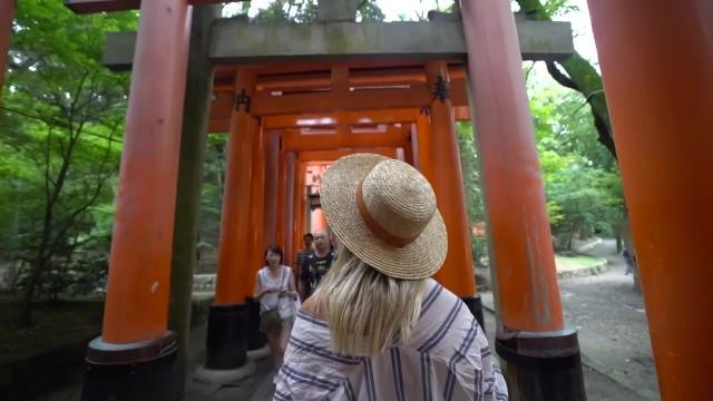 exploring fushimi inari shrine in kyoto japan vlog 45 Exploring Fushimi Inari Shrine in Kyoto Japan