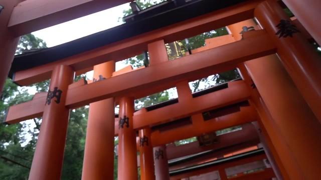exploring fushimi inari shrine in kyoto japan vlog 46 Exploring Fushimi Inari Shrine in Kyoto Japan