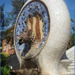 fairytale dragon queen in park guell 7 150x150 Fairytale Dragon Queen in Park Güell