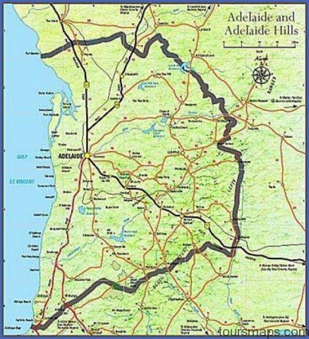 map of adelaide 0 Map of Adelaide