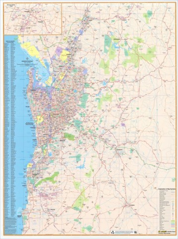 map of adelaide 11 Map of Adelaide