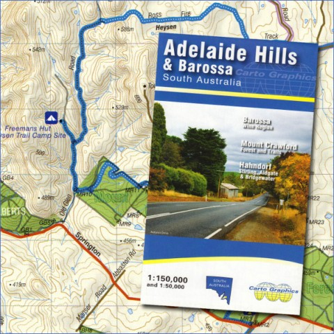 map of adelaide 14 Map of Adelaide