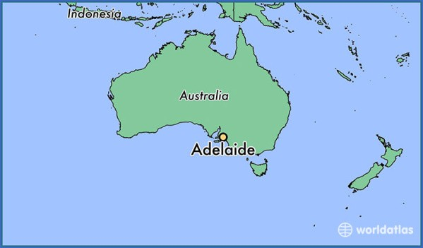 map of adelaide 3 Map of Adelaide