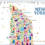 alfalfa studio iconic new york map lcrop 150x150 Map of New York