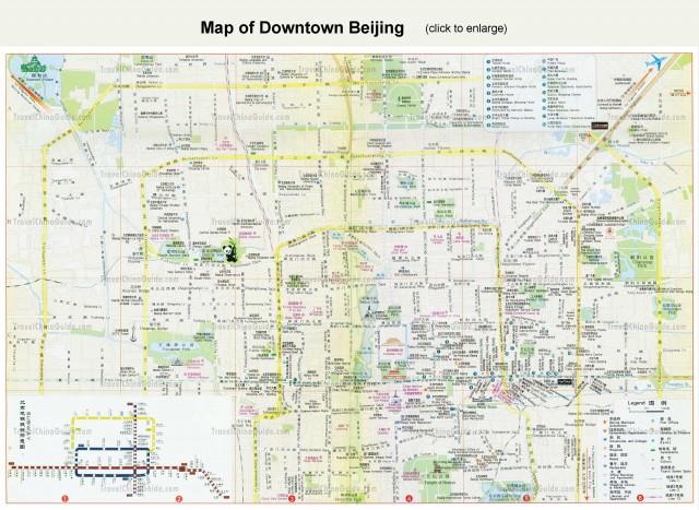 beijing map Beijing Map