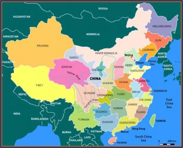 china map Beijing Map